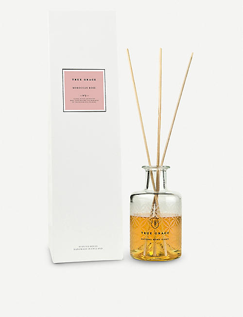 TRUE GRACE Moroccon rose reed diffuser 200ml