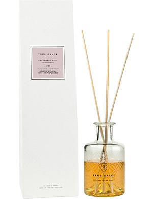 TRUE GRACE Village Cranborne rose reed diffuser