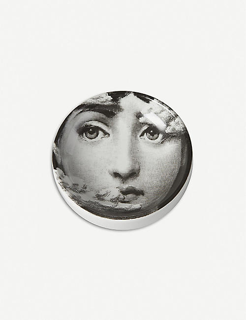 FORNASETTI: Cloud Cover porcelain ashtray 13cm