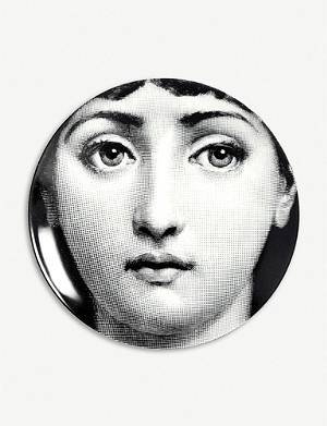 FORNASETTI T&V no163 porcelain wall plate