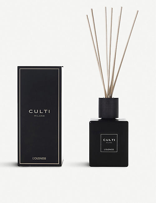 CULTI L'Oudness black reed diffuser 500 ml