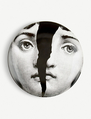 FORNASETTI T&V no10 porcelain wall plate