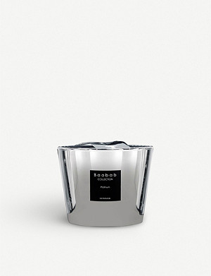 BAOBAB Platinum Max 10 scented candle 500g