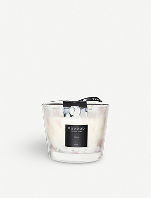 BAOBAB White Pearls Max 10 scented candle 500g