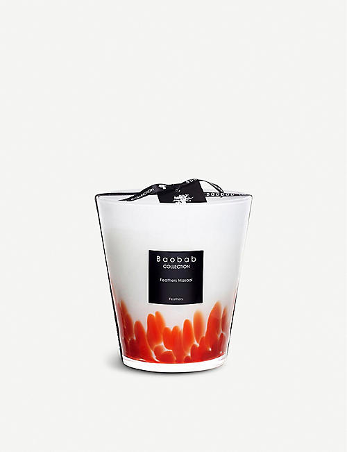 BAOBAB Feathers Masai scented candle 1kg