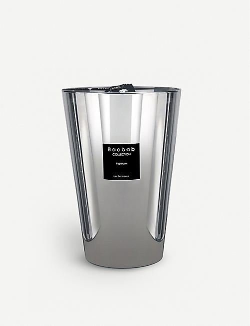 BAOBAB: Les Exclusives Platinum scented candle 6.5kg