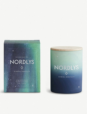 SKANDINAVISK NORDLYS mini vegetable-wax scented candle 55g