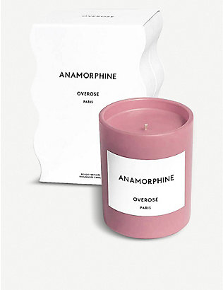 OVEROSE: Anamorphine pink candle 220g