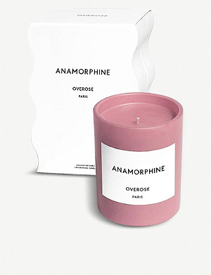 OVEROSE Anamorphine pink candle 220g