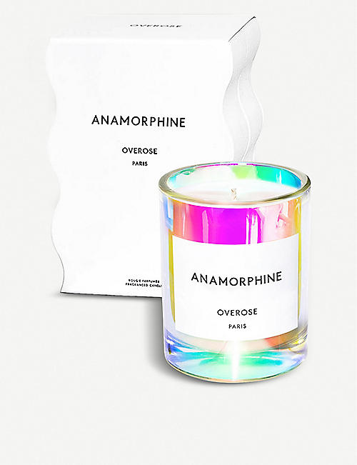 OVEROSE Anamorphine holographic candle 220g