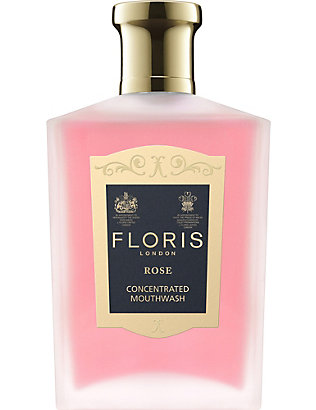 FLORIS: Rose mouthwash 100ml