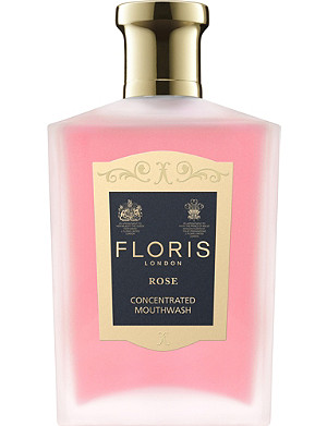 FLORIS Rose mouthwash 100ml