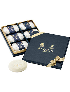 FLORIS Luxury soap collection 6 x 100g