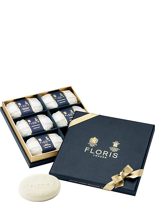 FLORIS: Luxury soap collection 6 x 100g