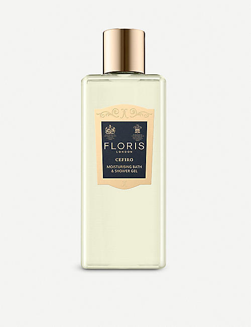 FLORIS: Cefiro Bath & Shower Gel 250ml