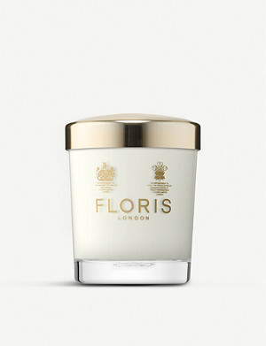 FLORIS Sandalwood & patchouli scented candle 175g