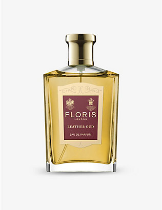 FLORIS: Leather oud eau de parfum 100ml