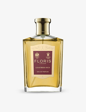 FLORIS Leather oud eau de parfum 100ml