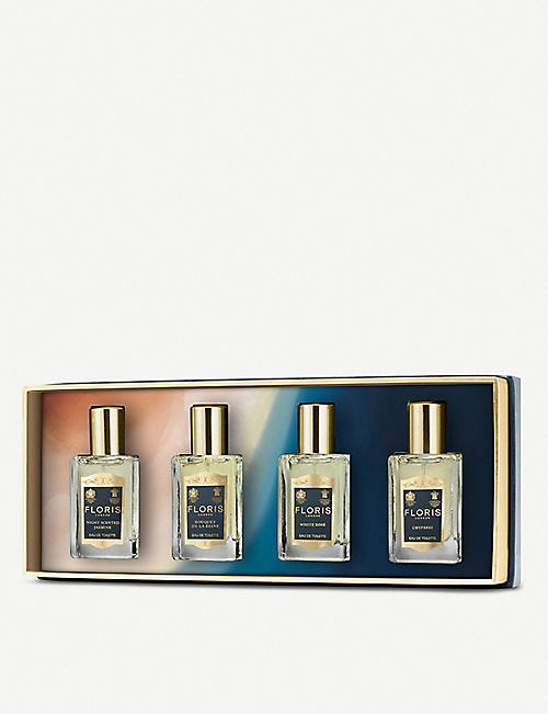 FLORIS Fragrance travel collection for her 4 x 14ml