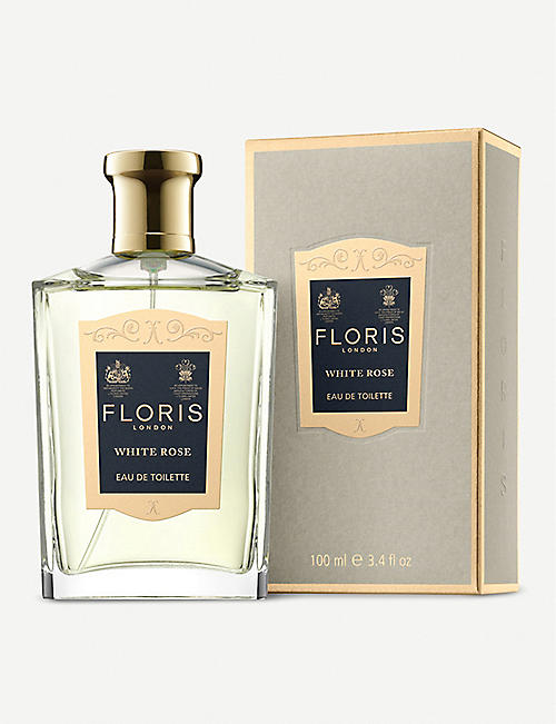 FLORIS White Rose Eau de Toilette 100ml