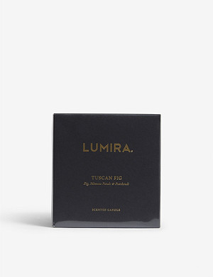 LUMIRA Tuscan fig candle 300g