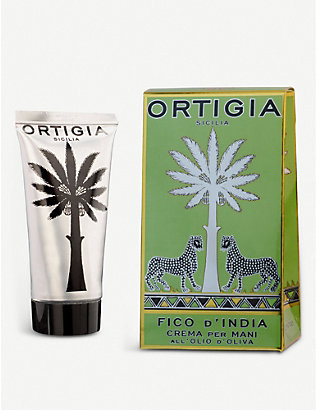 ORTIGIA SICILIA: Fico d'India hand cream 80ml