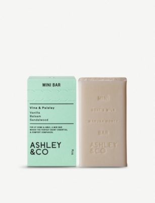 ASHLEY & CO Mini Bar Vine & Paisley soap 90g