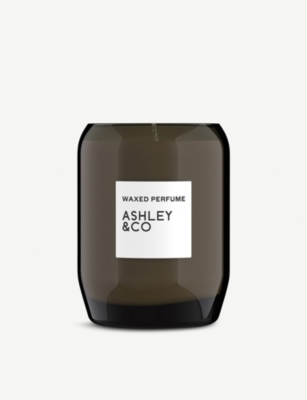 ASHLEY & CO Waxed Perfume Blossom & Gilt scented candle 310g