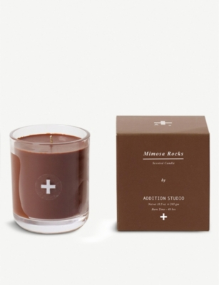 ADDITION STUDIO Mimosa Rocks scented candle