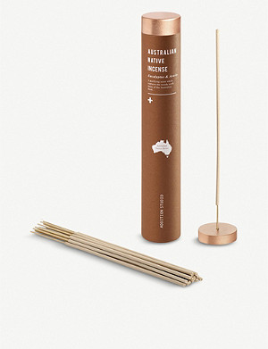 ADDITION STUDIO Australian Native Incense Burner Set - Eucalyptus and Acaccia