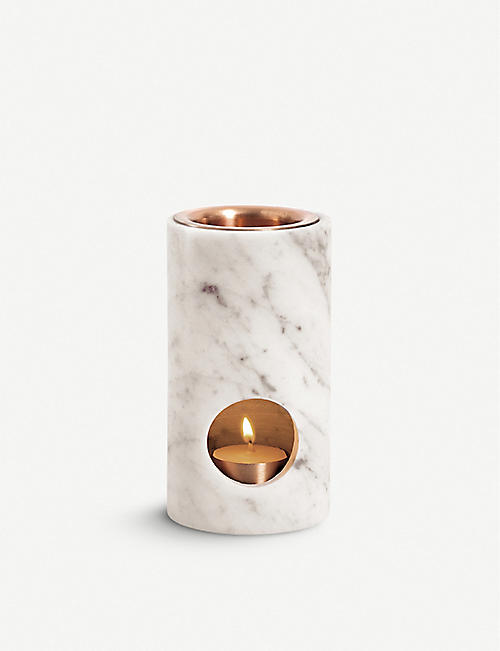 ADDITION STUDIO Carrara Marble Synergy Oil Diffuser