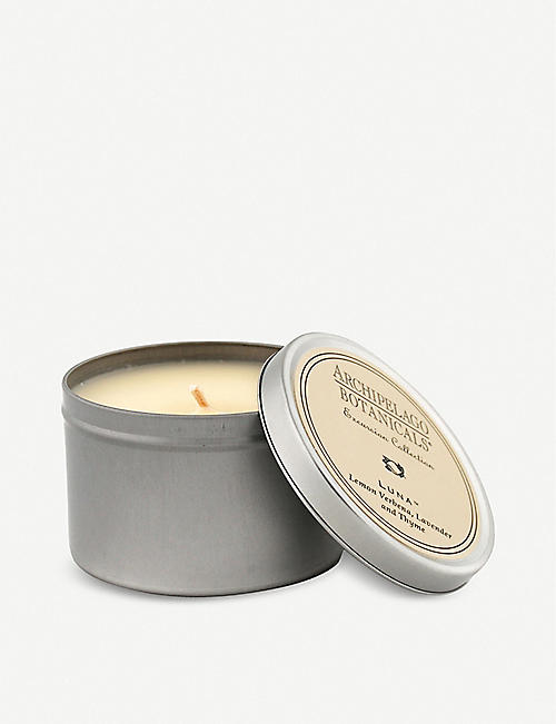ARCHIPELAGO: Luna travel tin scented candle