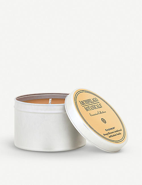 ARCHIPELAGO: Kashmir scented candle travel tin