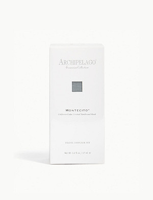 ARCHIPELAGO Excursion Montecito™ travel diffuser set 47ml