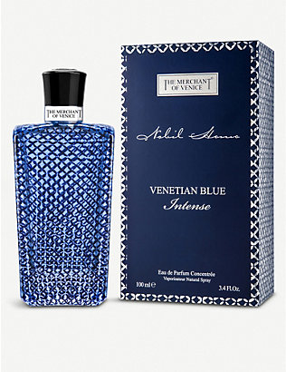 THE MERCHANT OF VENICE: Venetian Blue Intense cologne 100ml