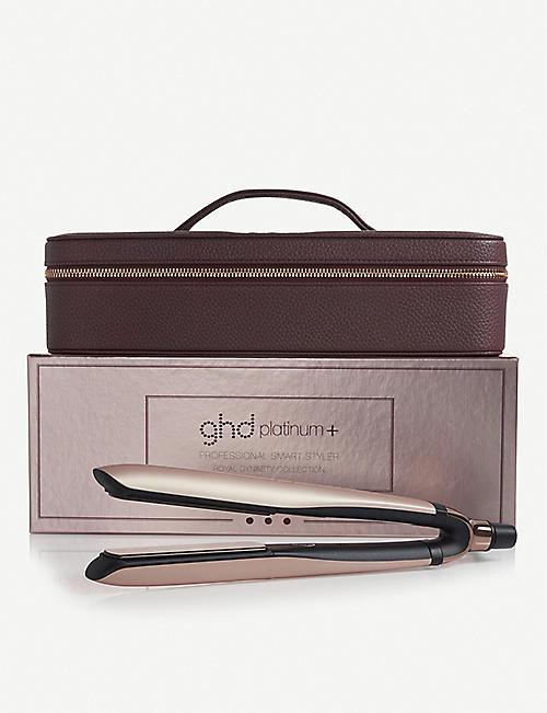 GHD Royal Dynasty Platinum+ Professional Styler rose-gold gift set