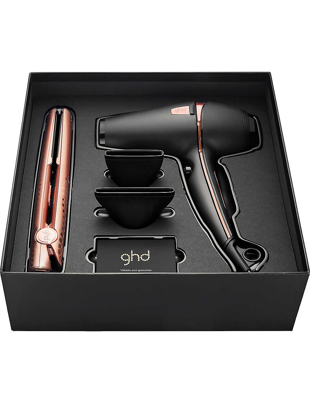 GHD: Rose gold deluxe set