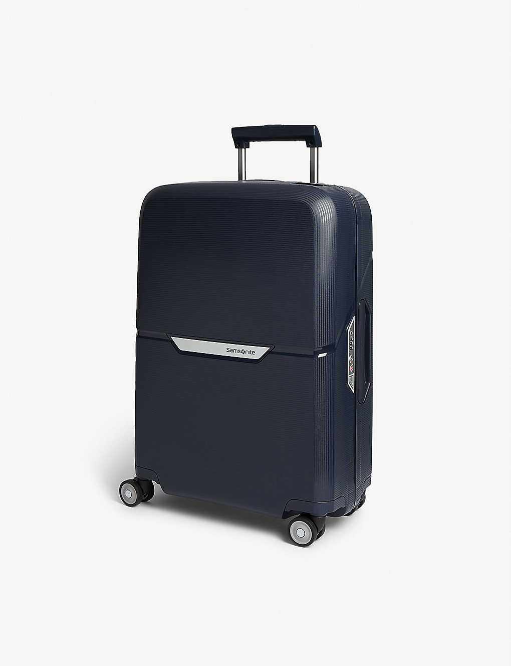 SAMSONITE: Magnum four-wheel cabin suitcase 55cm