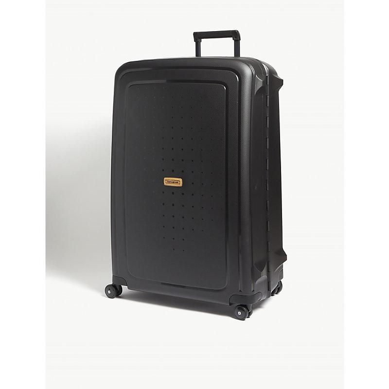 Shop Samsonite S Cure Eco Suitcase 81 Cm In Eco Black d6b653de1b