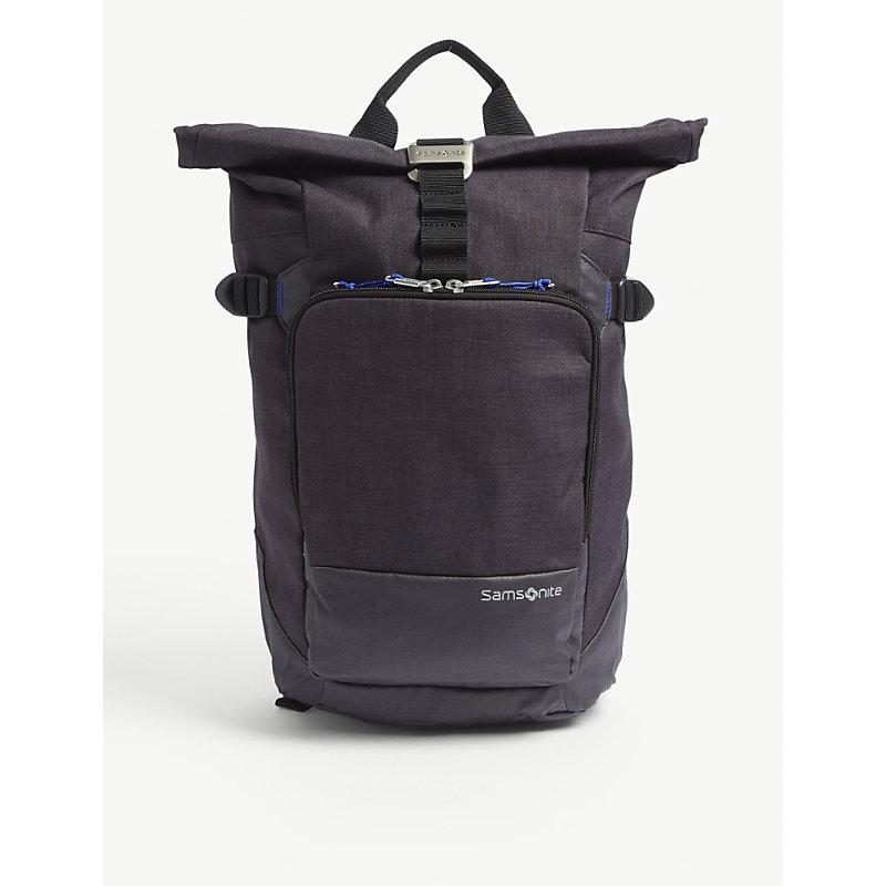 Shop Samsonite Ziproll Laptop Backpack In Shadow Blue 408abd3191