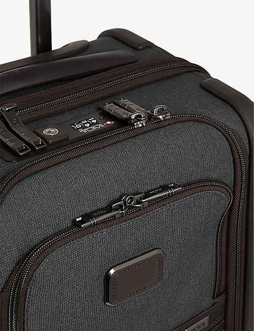 TUMI Alpha 3 International Dual-Access carry-on suitcase 56cm