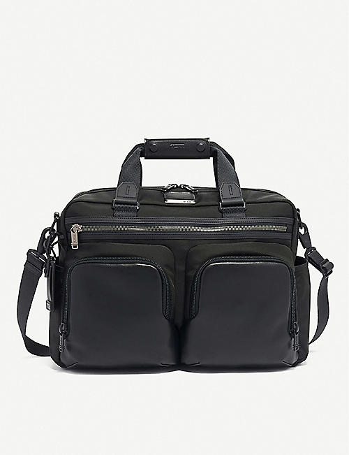 TUMI: Hunter nylon satchel