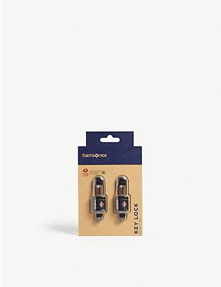 SAMSONITE: TSA key locks pack of two