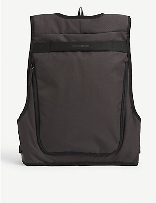 SAMSONITE: Hull slimline nylon laptop backpack