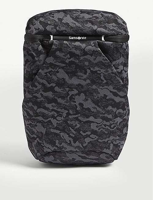 SAMSONITE: Neoknit camouflage laptop backpack