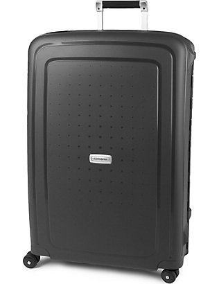 SAMSONITE: S'Cure four-wheel spinner suitcase 75cm