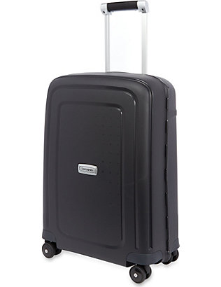 SAMSONITE: S'Cure DLX four wheeled suitcase 55cm