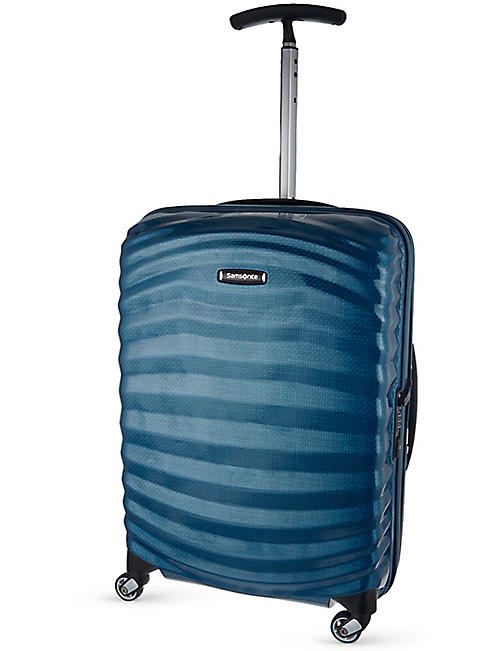 SAMSONITE: Lite-Shock spinner 55 four-wheel cabin suitcase