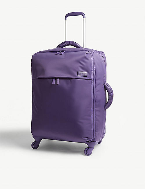LIPAULT: Originale plume four-wheel cabin suitcase 65cm