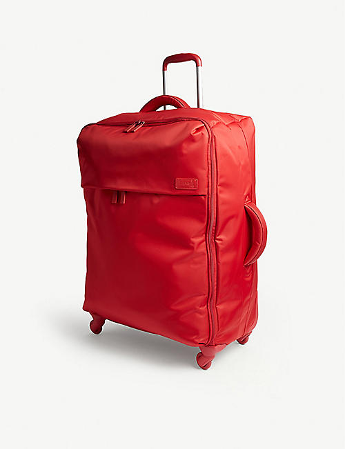 LIPAULT: Originale plume four-wheel cabin suitcase 72cm